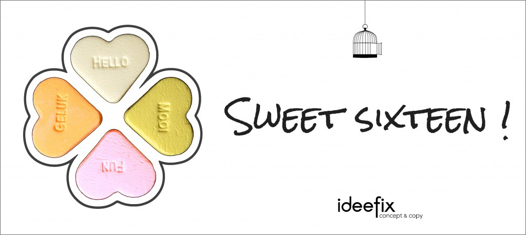 IDEEFIX - New Year - Sweet16
